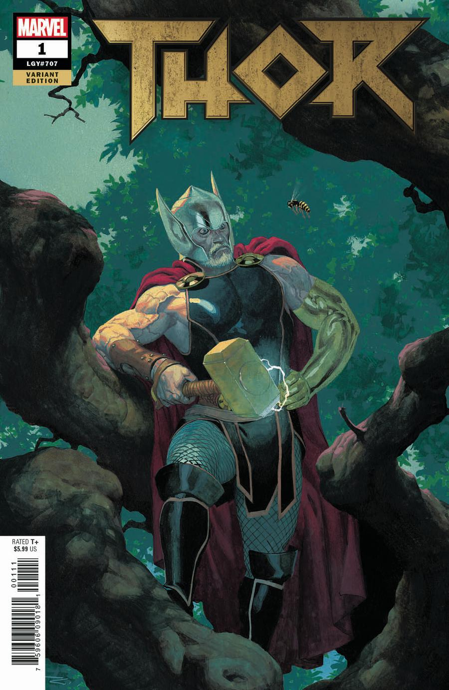 Thor Vol 5 #1 Cover G Incentive Esad Ribic Variant Cover