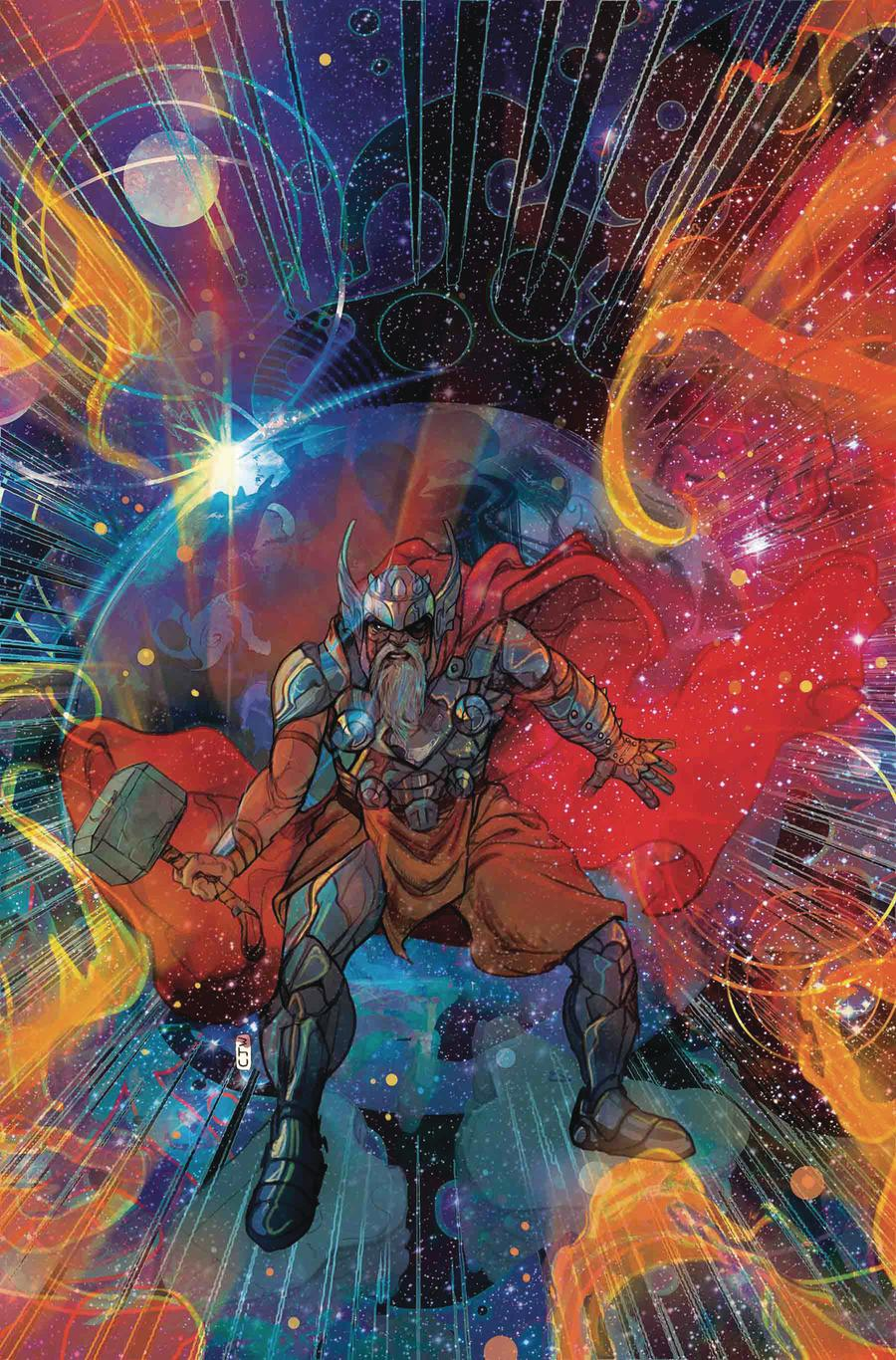 Thor Vol 5 #1 Cover F Incentive Christian Ward Variant Cover