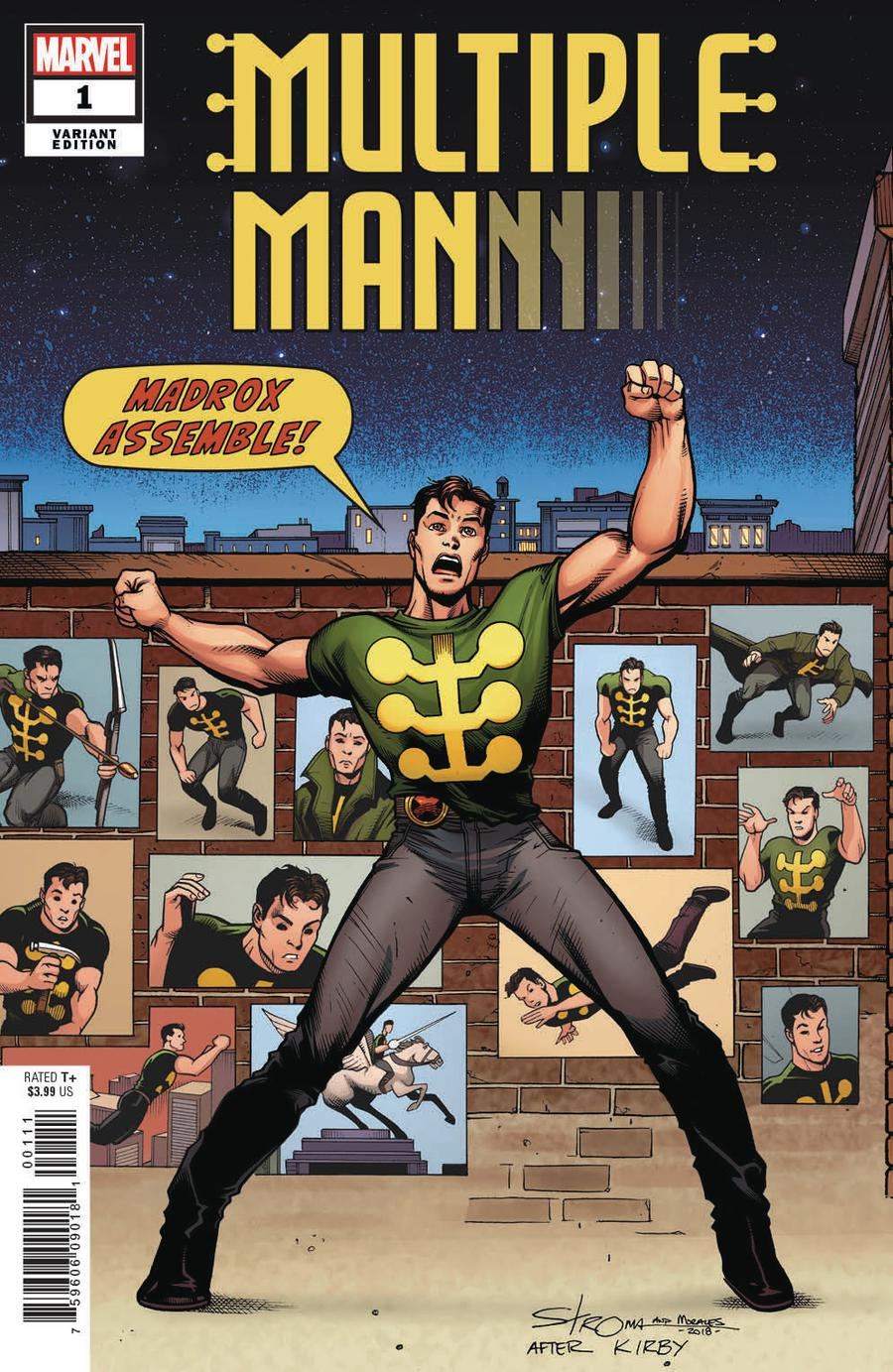 Multiple Man #1 Cover C Incentive Larry Stroman Variant Cover