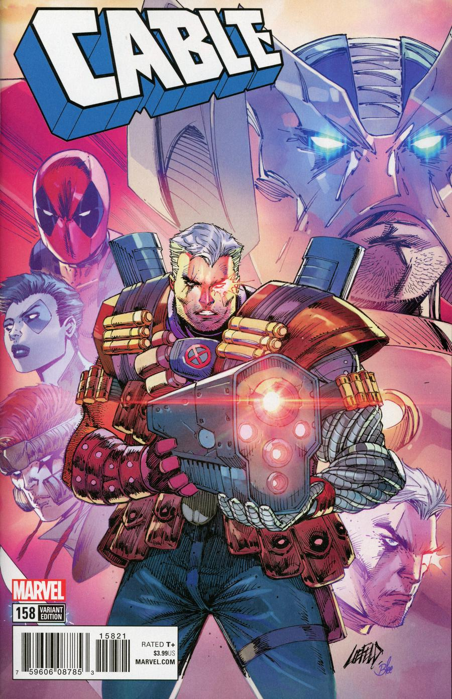 Cable Vol 3 #158 Cover B Incentive Rob Liefeld Variant Cover