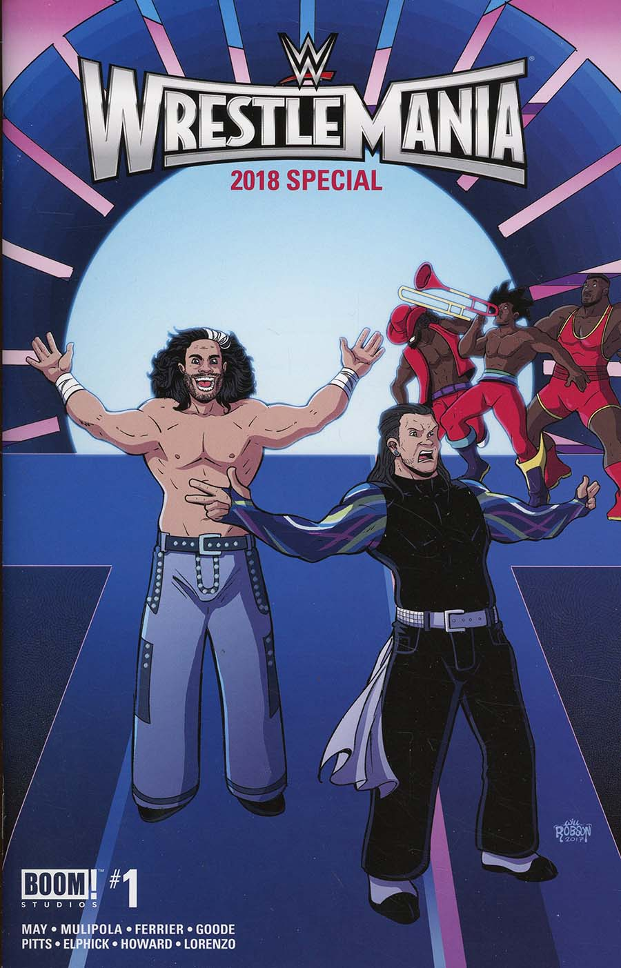 WWE Wrestlemania 2018 Special #1 Cover B Variant Will Robson Cover