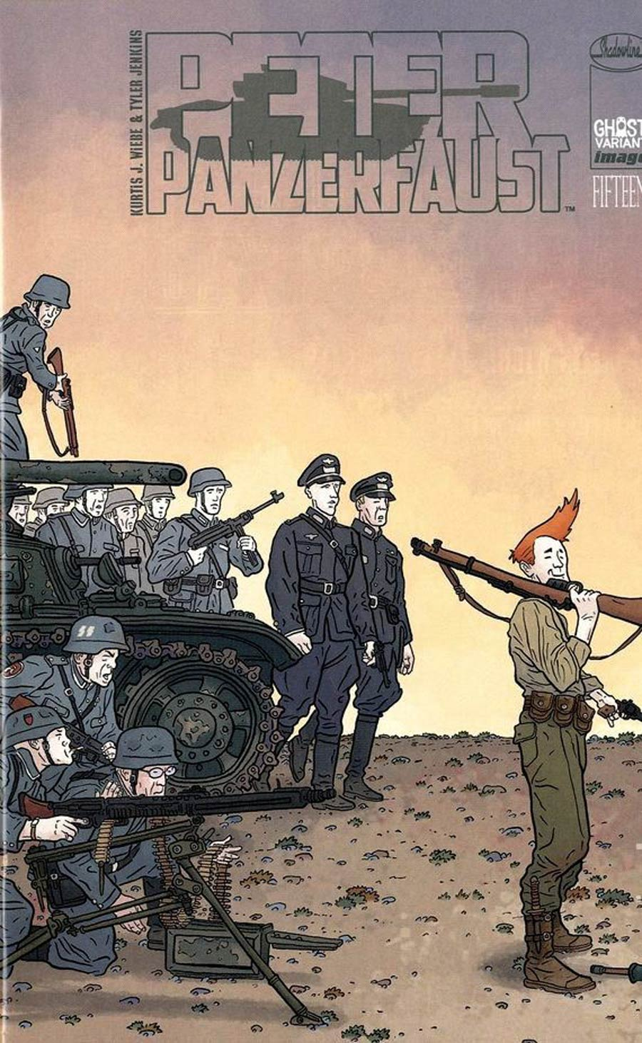 Peter Panzerfaust #15 Cover C Ghost Wraparound Variant Cover Geof Darrow