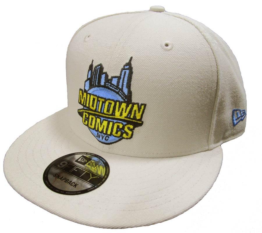 Midtown Comics Logo Mens Stone 950 Snapback Cap Powered By New Era