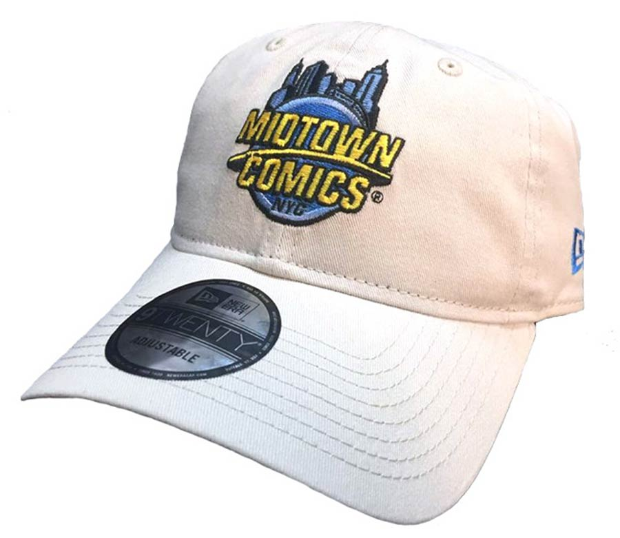 Midtown Comics Logo Mens Stone 920 Buckle Strap Cap Powered By New Era