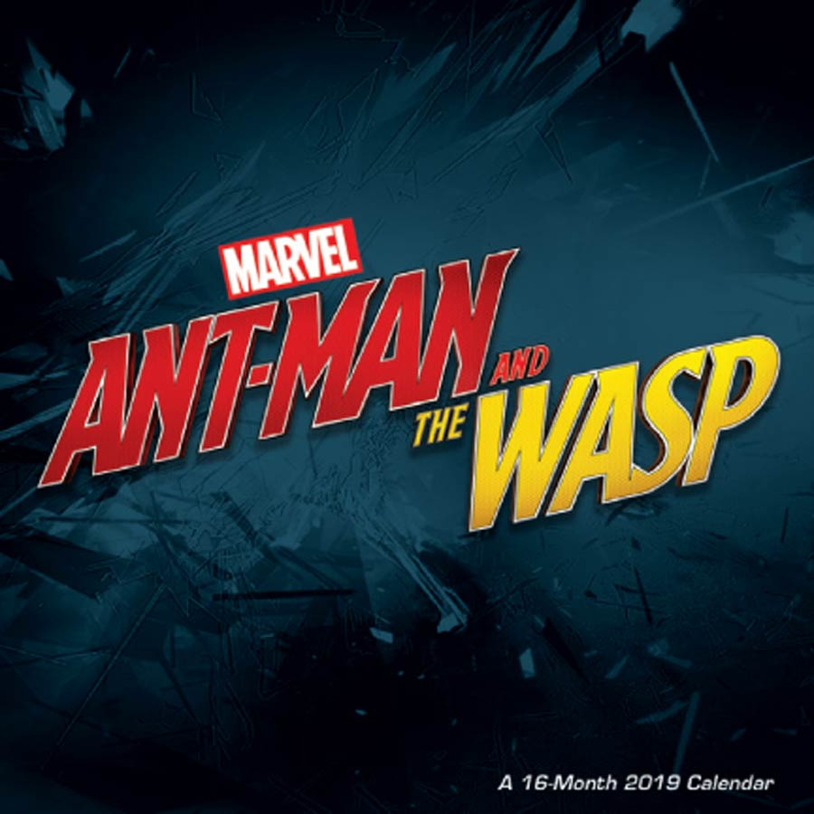 Ant-Man And The Wasp 2019 12x12-inch Wall Calendar