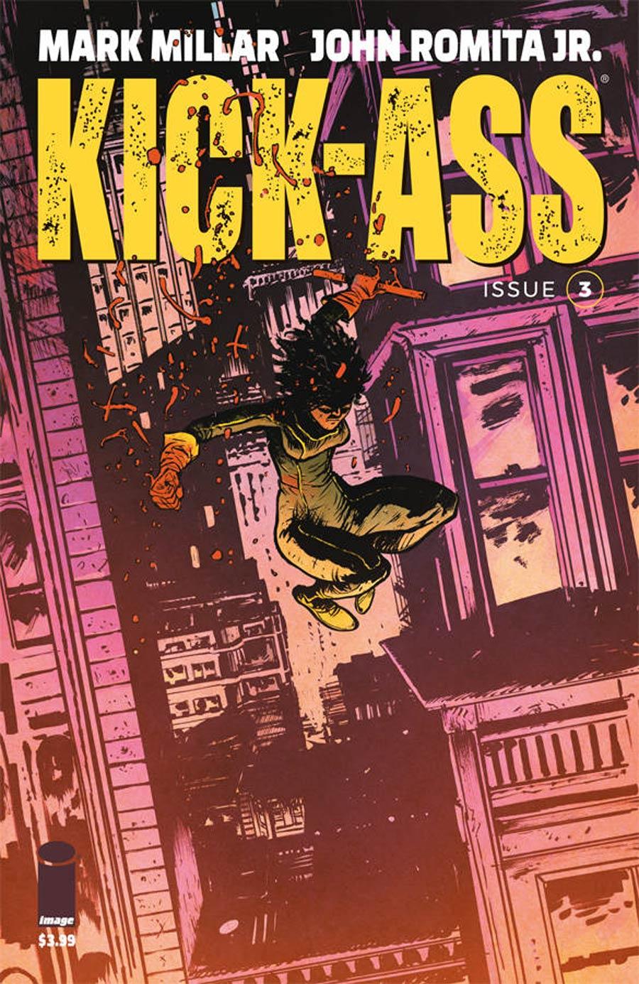 Kick-Ass Vol 4 #3 Cover C Variant Daniel Warren Johnson Cover