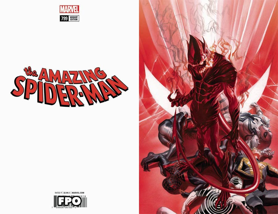 Amazing Spider-Man Vol 4 #799 Cover D Incentive Alex Ross Virgin Variant Cover
