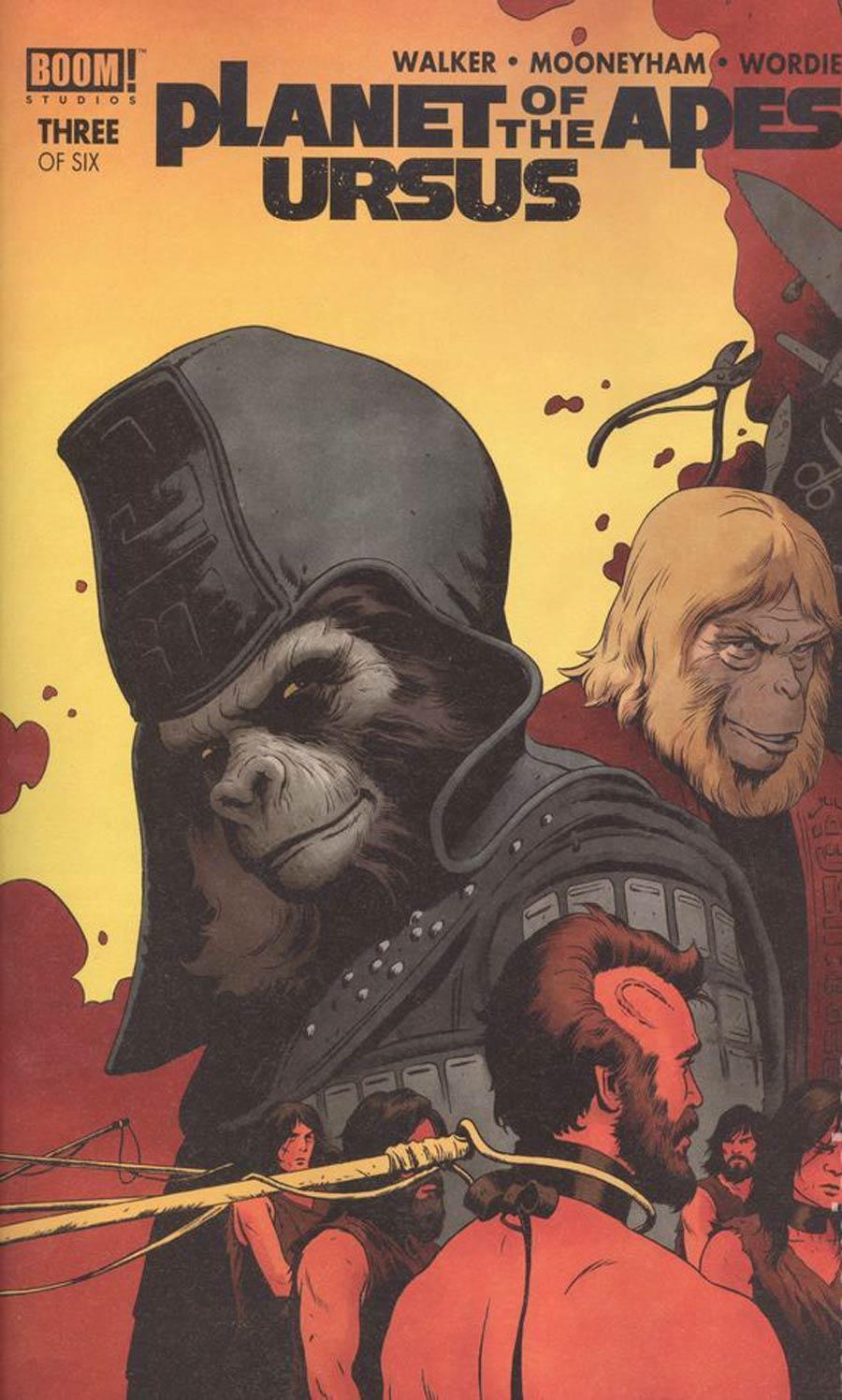 Planet Of The Apes Ursus #3 Cover A Regular Paolo Rivera & Joe Rivera Cover