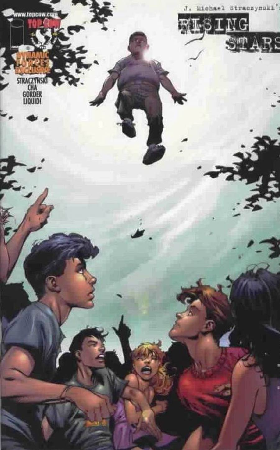 Rising Stars #2 Cover C DF Exclusive Variant Cover Without Certificate