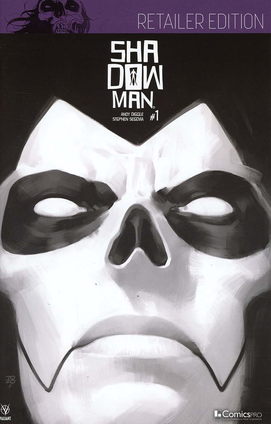 Shadowman Vol 5 #1 Cover G ComicsPro Exclusive Variant Cover