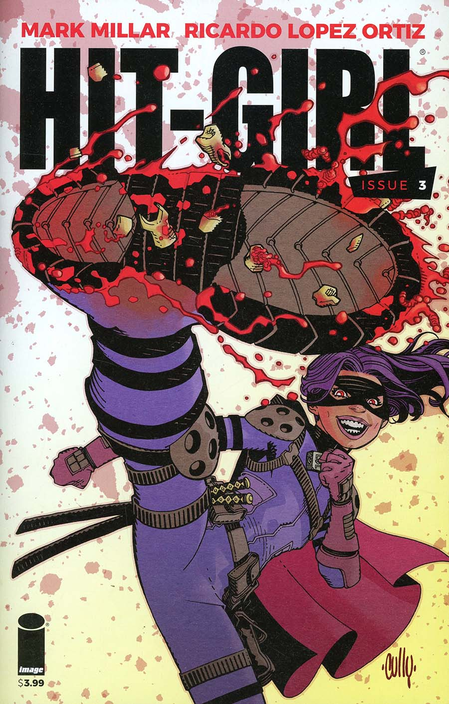 Hit-Girl Vol 2 #3 Cover C Variant Cully Hamner Cover