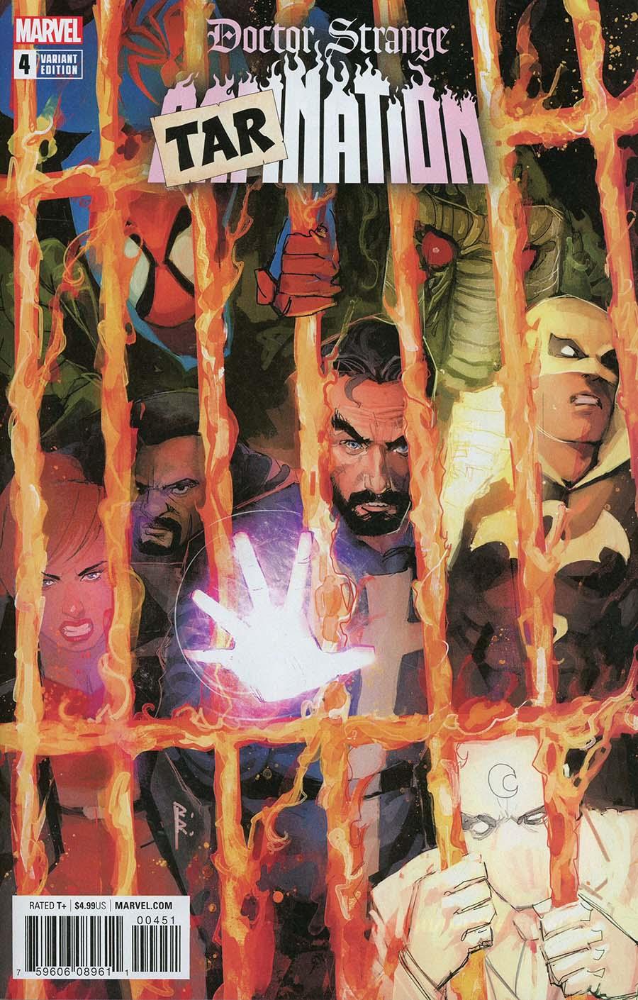 Doctor Strange Damnation #4 Cover D Variant Rod Reis Tarnation Cover