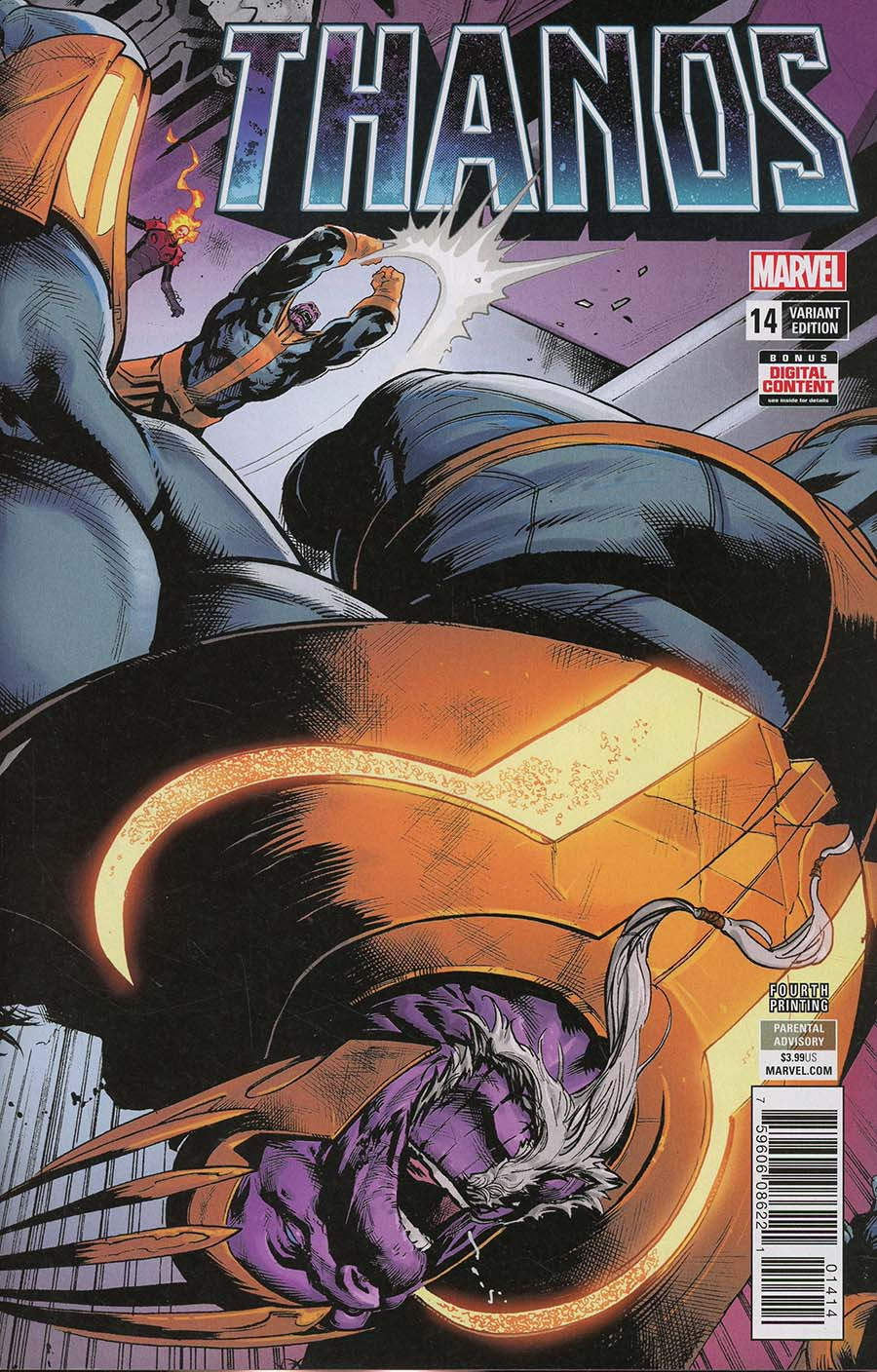 Thanos Vol 2 #14 Cover E 4th Ptg Variant Geoff Shaw Cover