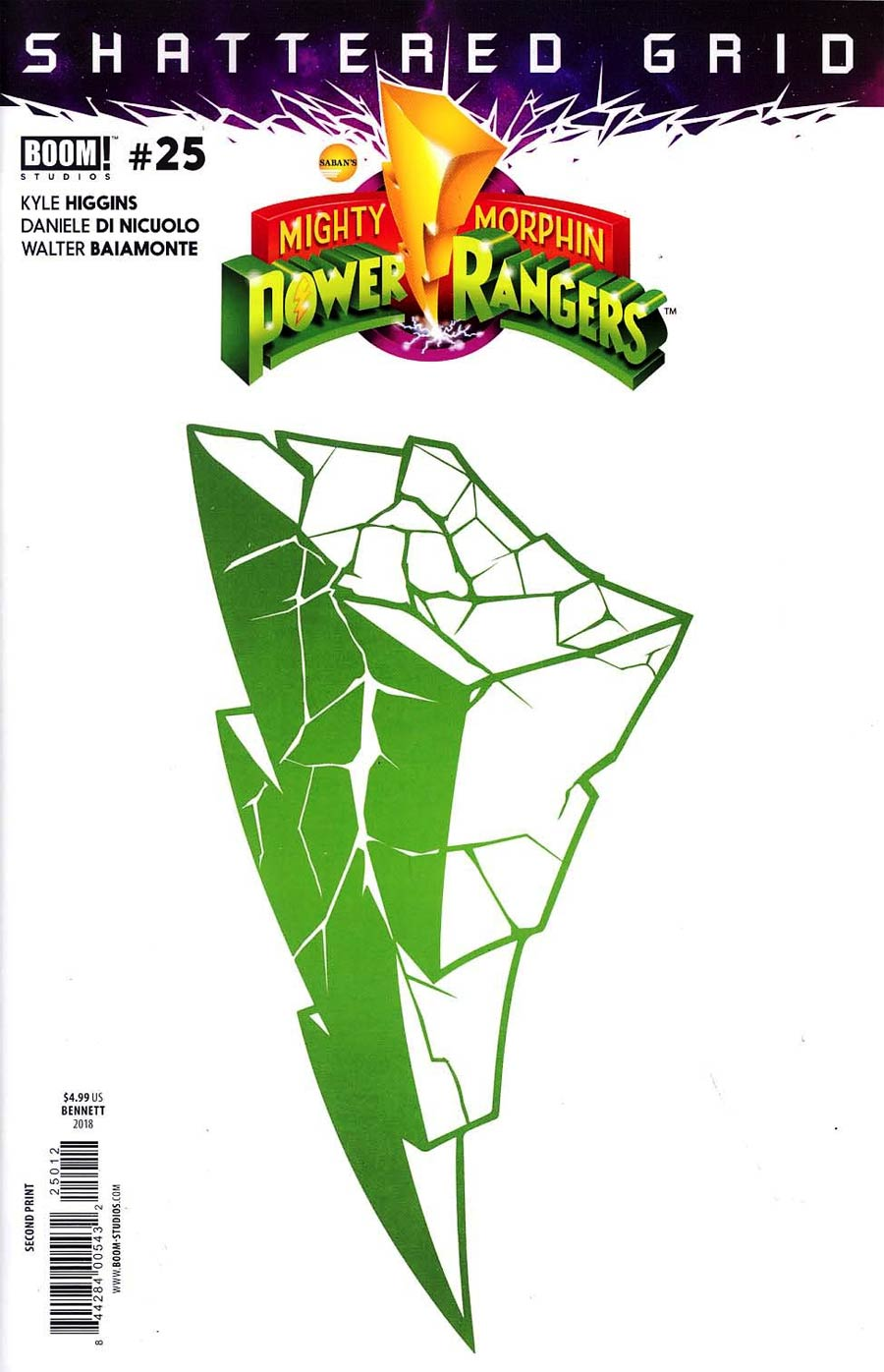 Mighty Morphin Power Rangers (BOOM Studios) #25 Cover S 2nd Ptg