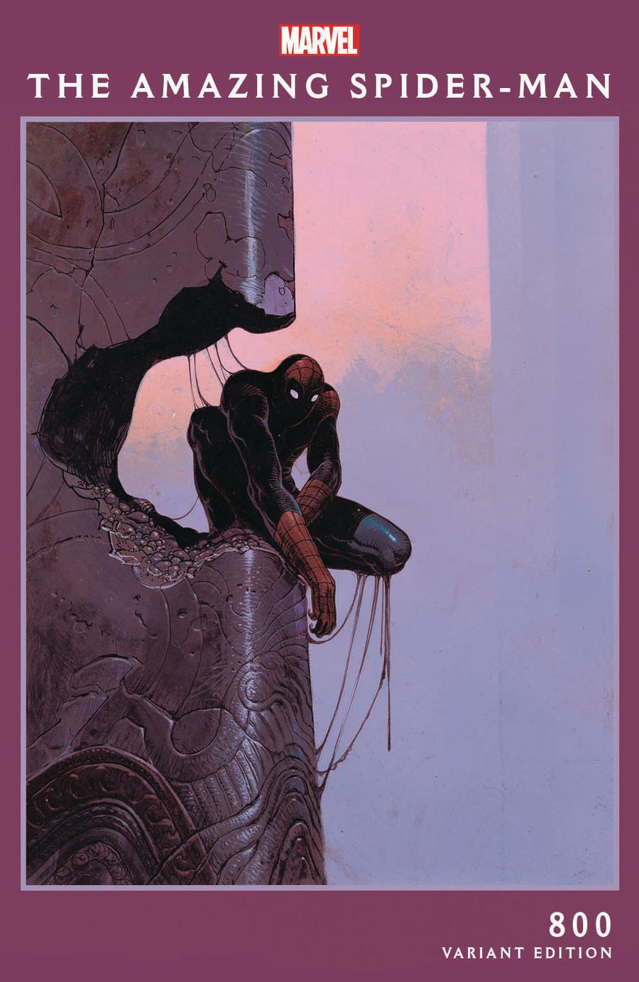 Amazing Spider-Man Vol 4 #800 Cover H Variant Moebius Cover