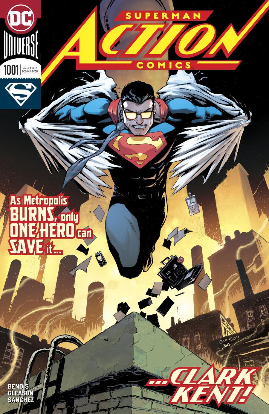 Action Comics Vol 2 #1001 Cover A Regular Patrick Gleason Cover