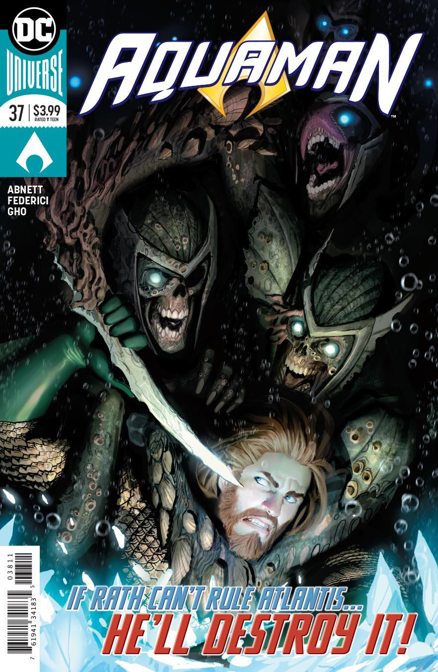 Aquaman Vol 6 #38 Cover A Regular Stjepan Sejic Cover