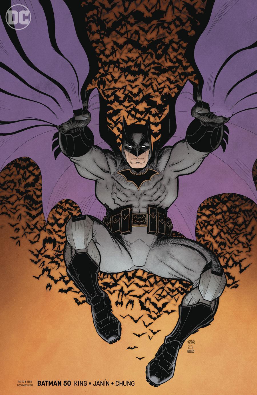 Batman Vol 3 #50 Cover B Variant Arthur Adams Cover