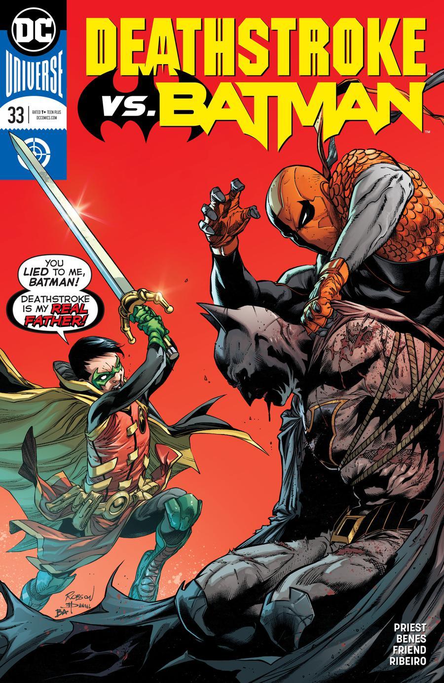 Deathstroke Vol 4 #33 Cover A Regular Robson Rocha & Daniel Henriques Cover