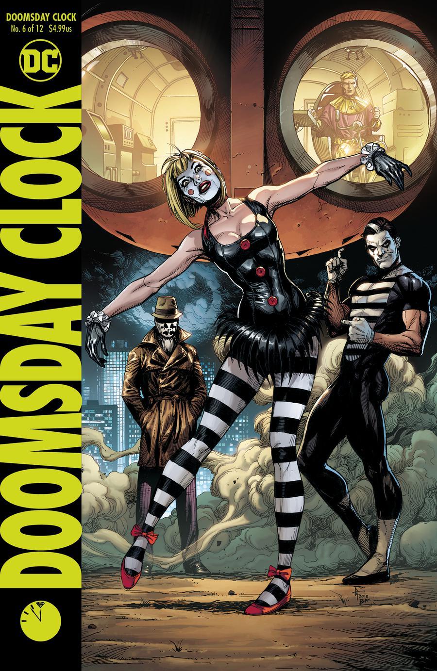 Doomsday Clock #6 Cover B Variant Gary Frank Cover