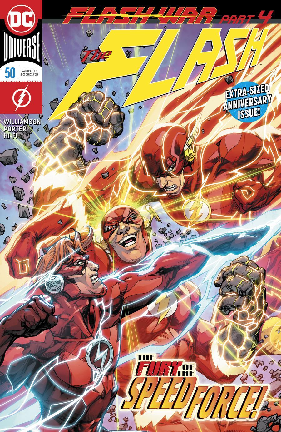 Flash Vol 5 #50 Cover A Regular Howard Porter Cover