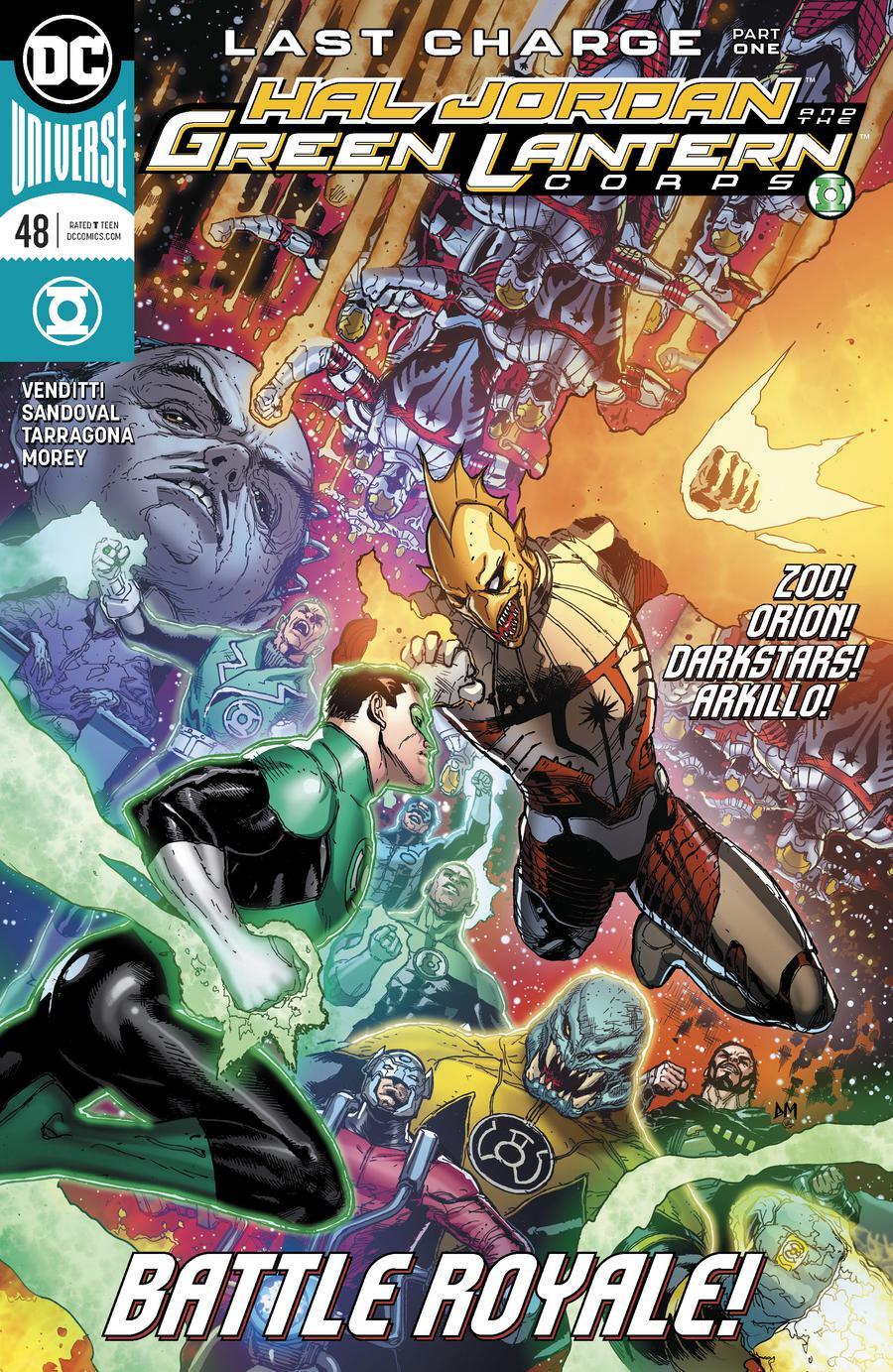 Hal Jordan And The Green Lantern Corps #48 Cover A Regular Doug Mahnke Cover