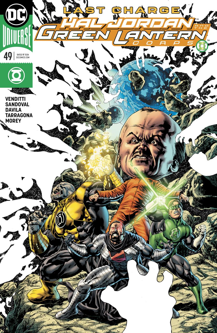 Hal Jordan And The Green Lantern Corps #49 Cover A Regular Doug Mahnke Cover