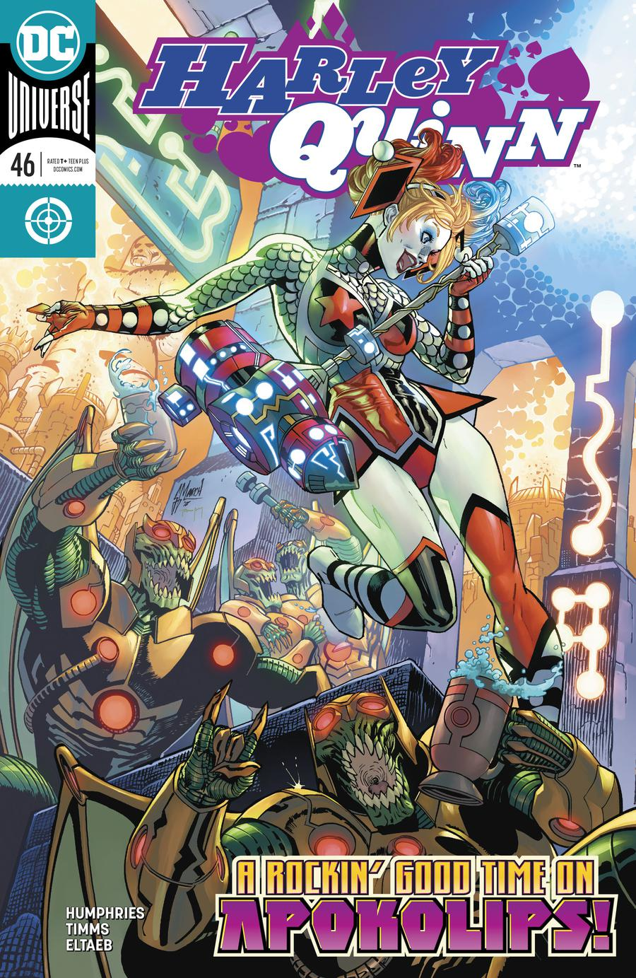 Harley Quinn Vol 3 #46 Cover A Regular Guillem March Cover