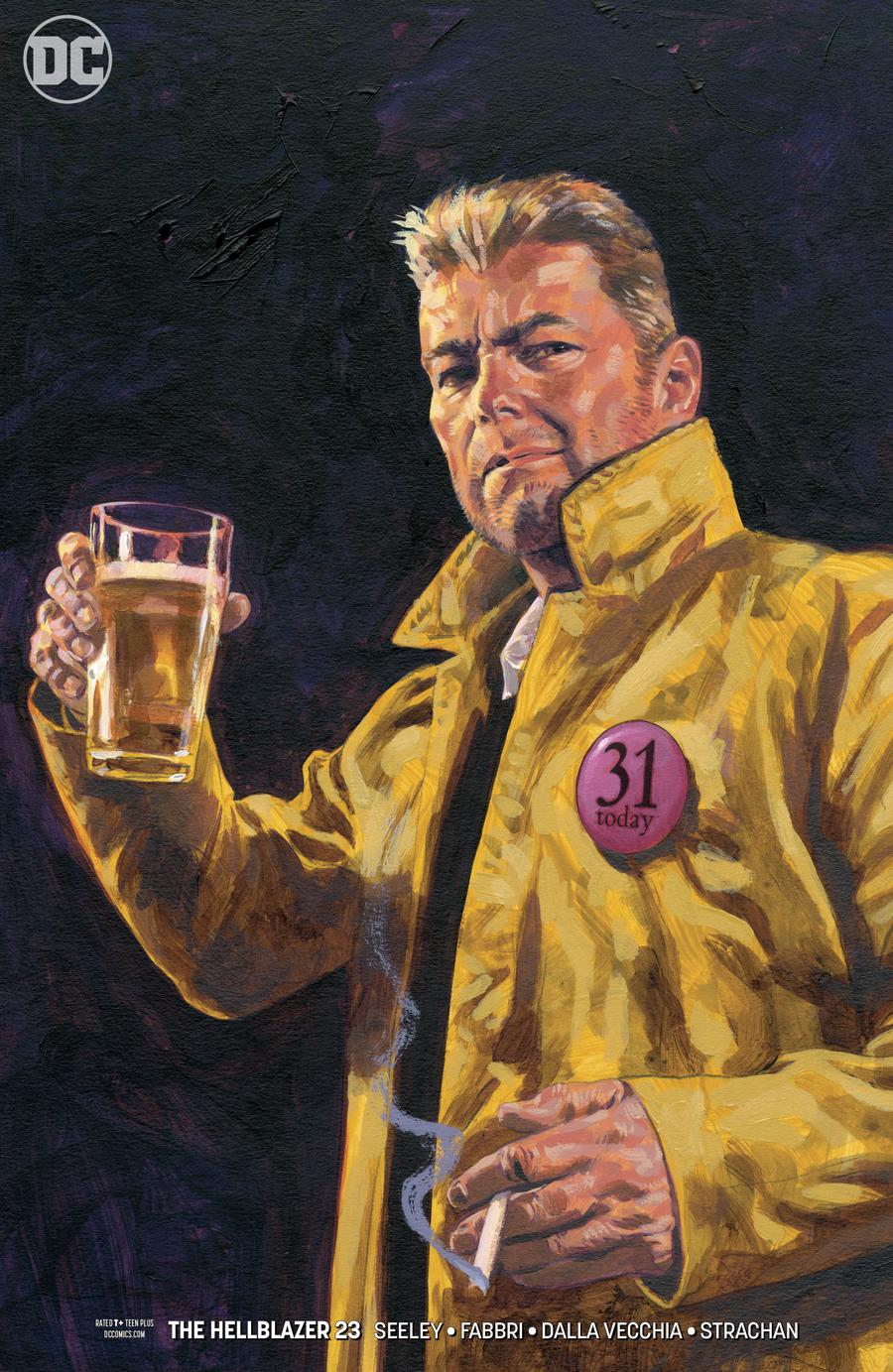 Hellblazer Vol 2 #24 Cover B Variant Sean Phillips Cover