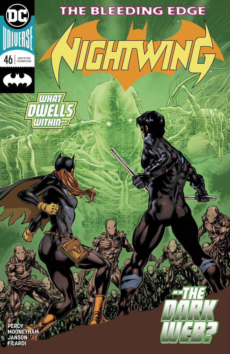 Nightwing Vol 4 #46 Cover A Regular Mike Perkins Cover