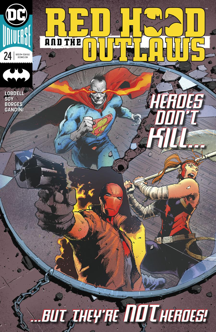Red Hood And The Outlaws Vol 2 #24 Cover A Regular Trevor Hairsine Cover