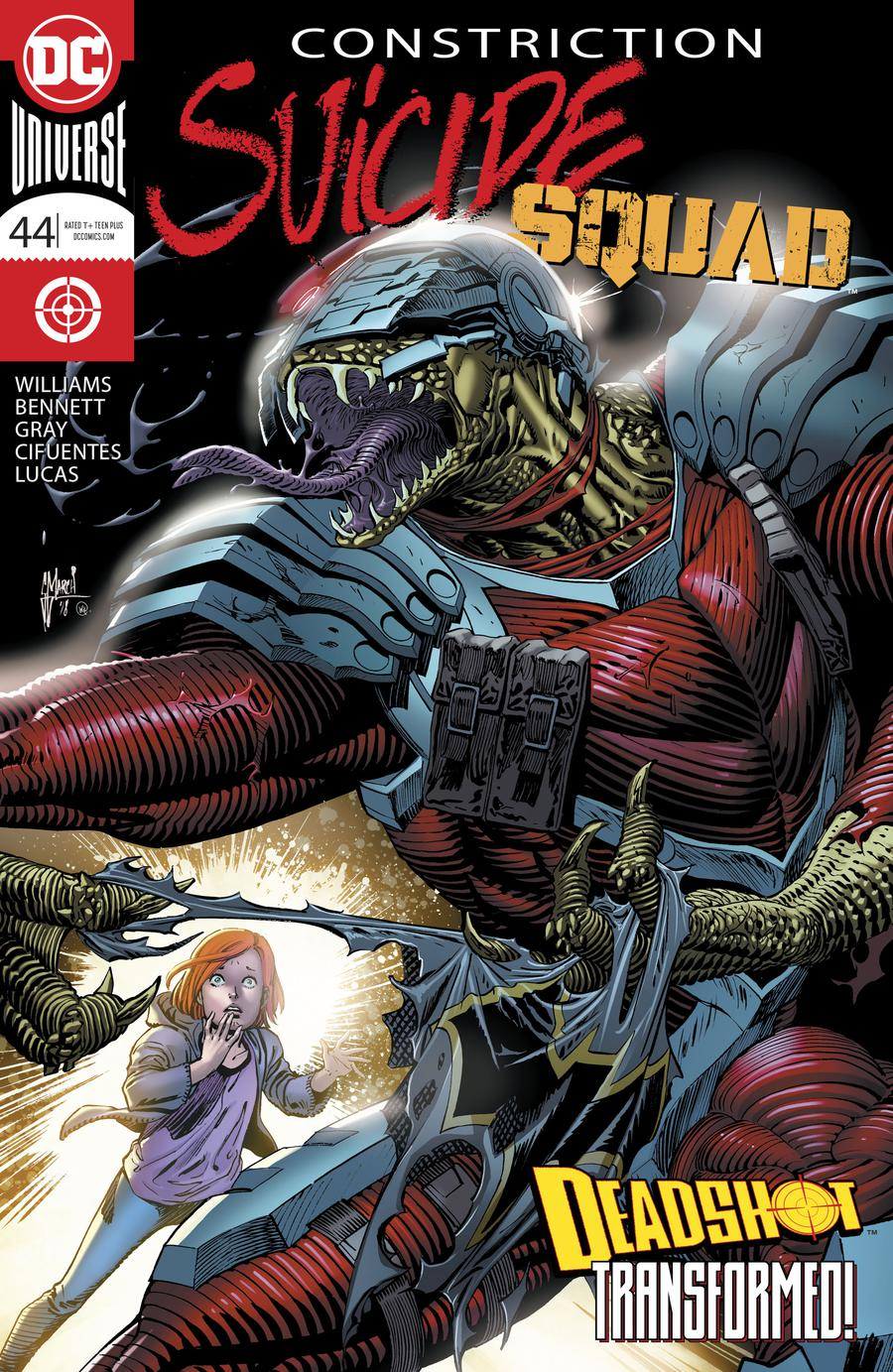 Suicide Squad Vol 4 #44 Cover A Regular Guillem March Cover