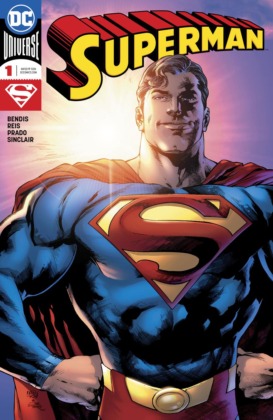 Superman Vol 6 #1 Cover A Regular Ivan Reis & Joe Prado Cover
