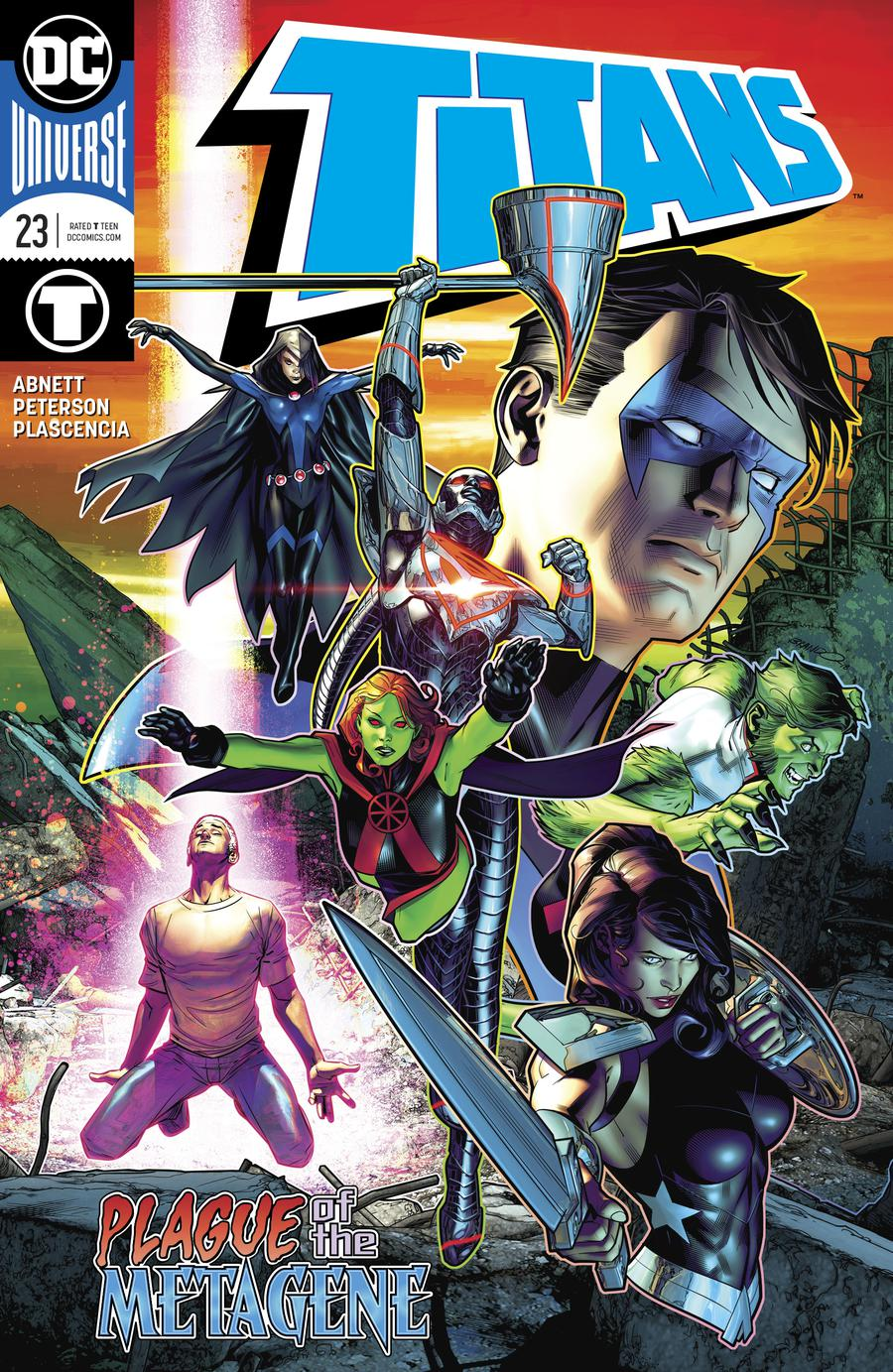 Titans Vol 3 #23 Cover A 1st Ptg Regular Brandon Peterson Cover