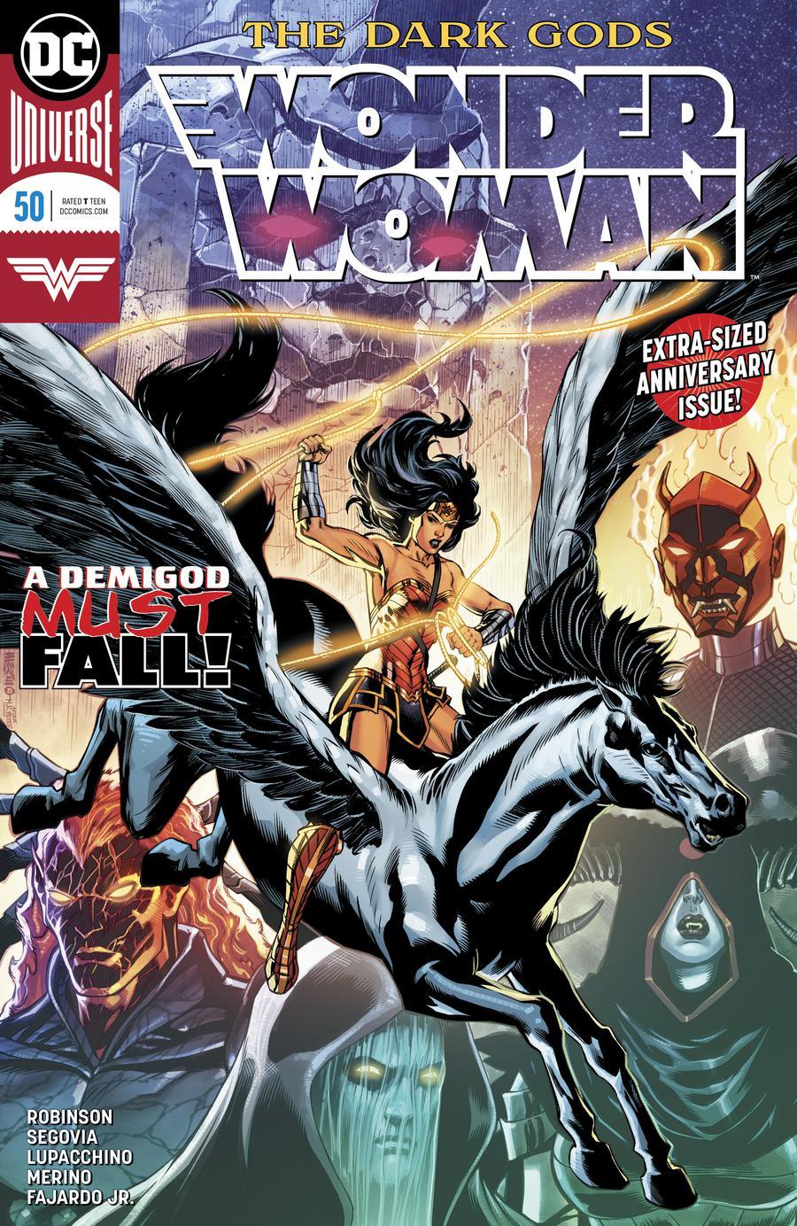 Wonder Woman Vol 5 #50 Cover A Regular Jesus Merino Cover