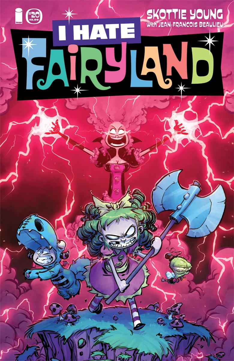 I Hate Fairyland #20 Cover A Regular Skottie Young Cover