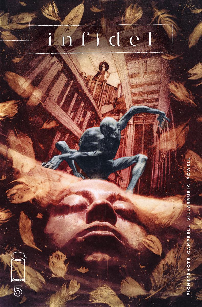 Infidel #5 Cover A Regular Aaron Campbell & Jose Villarrubia Cover