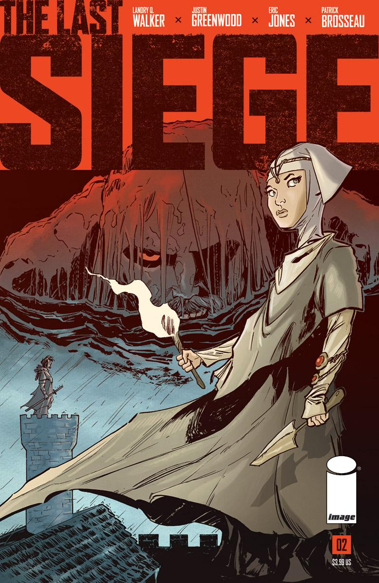 Last Siege #2 Cover A Regular Justin Greenwood Cover