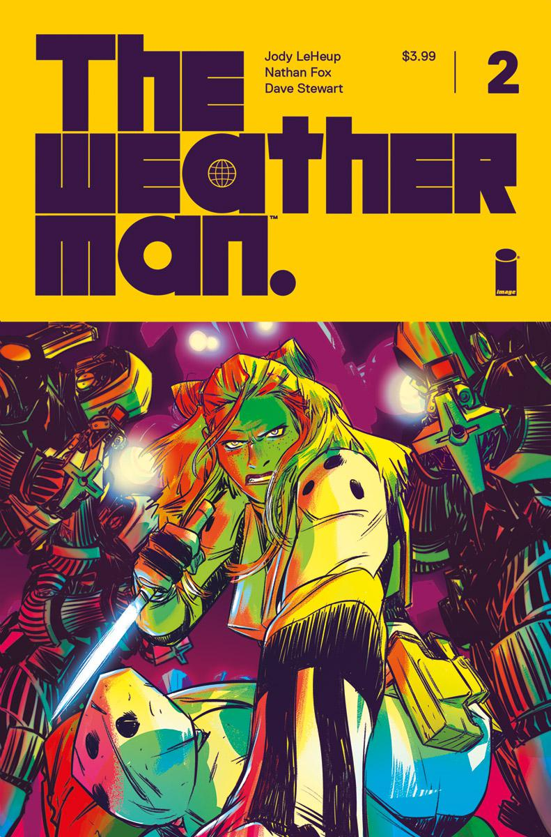 Weatherman #2 Cover A Regular Nathan Fox Cover
