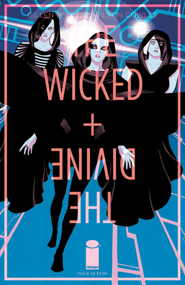 Wicked + The Divine #38 Cover B Variant Cliff Chiang Cover