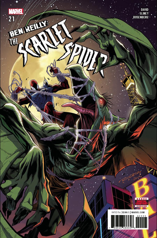Ben Reilly The Scarlet Spider #21