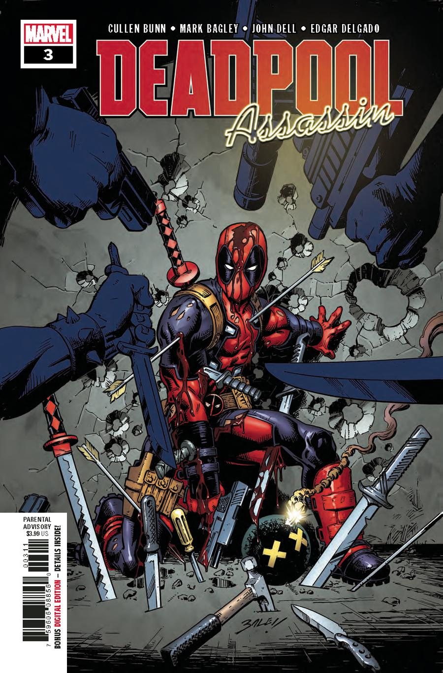 Deadpool Assassin #3 Cover A Regular Mark Bagley Cover