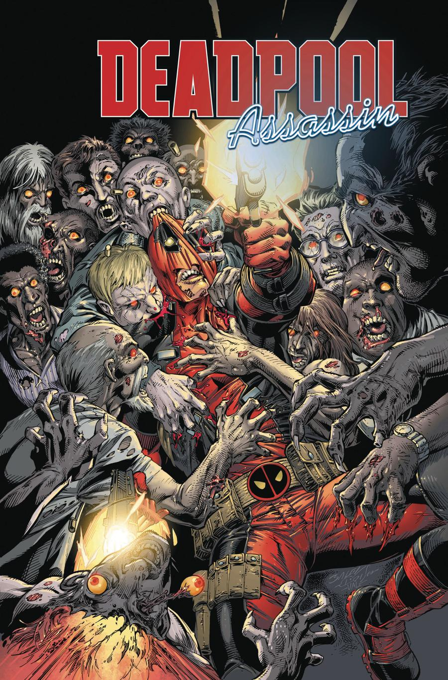 Deadpool Assassin #4 Cover A Regular Mark Bagley Cover
