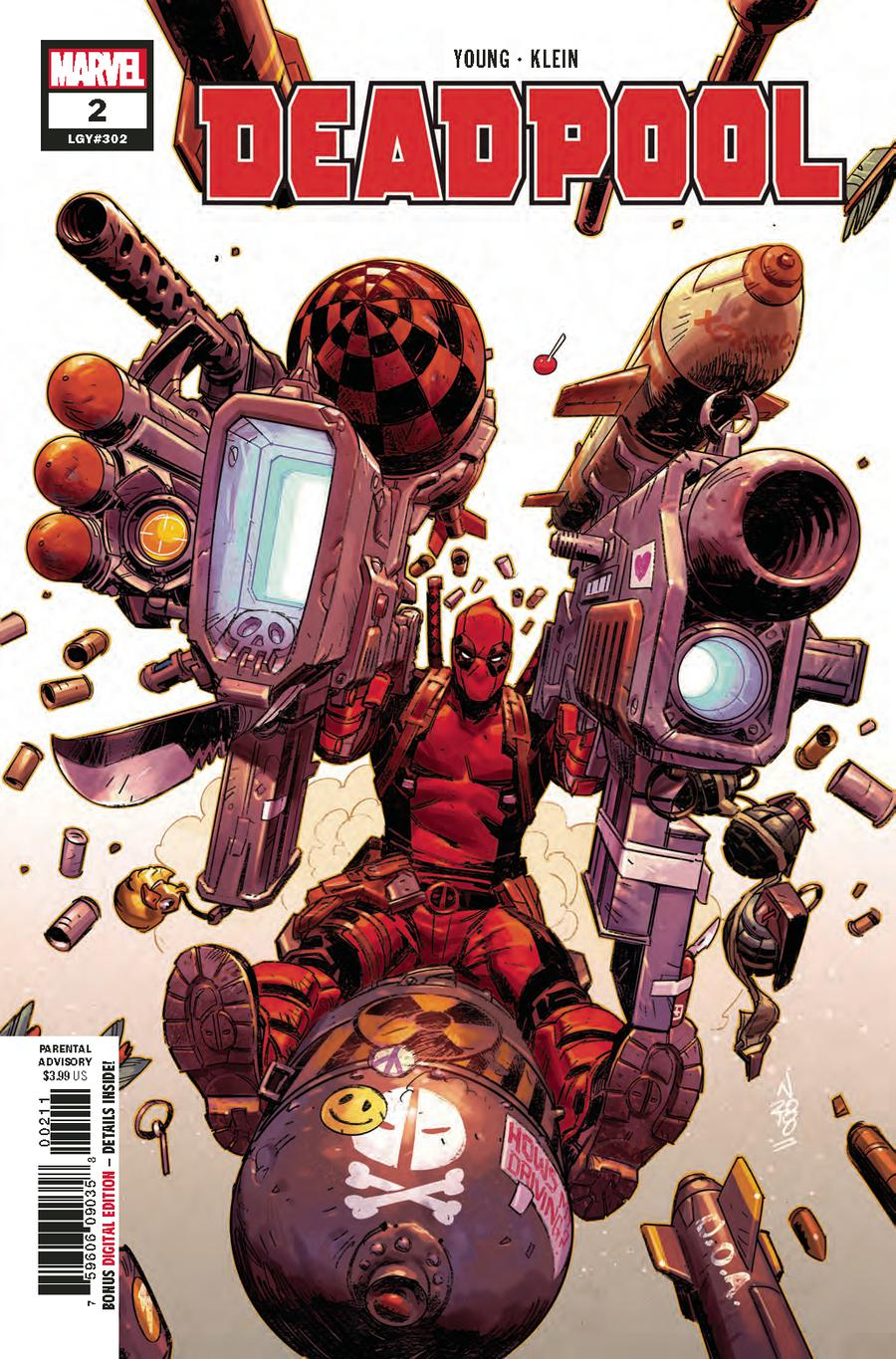 Deadpool Vol 6 #2 Cover A 1st Ptg Regular Nic Klein Cover