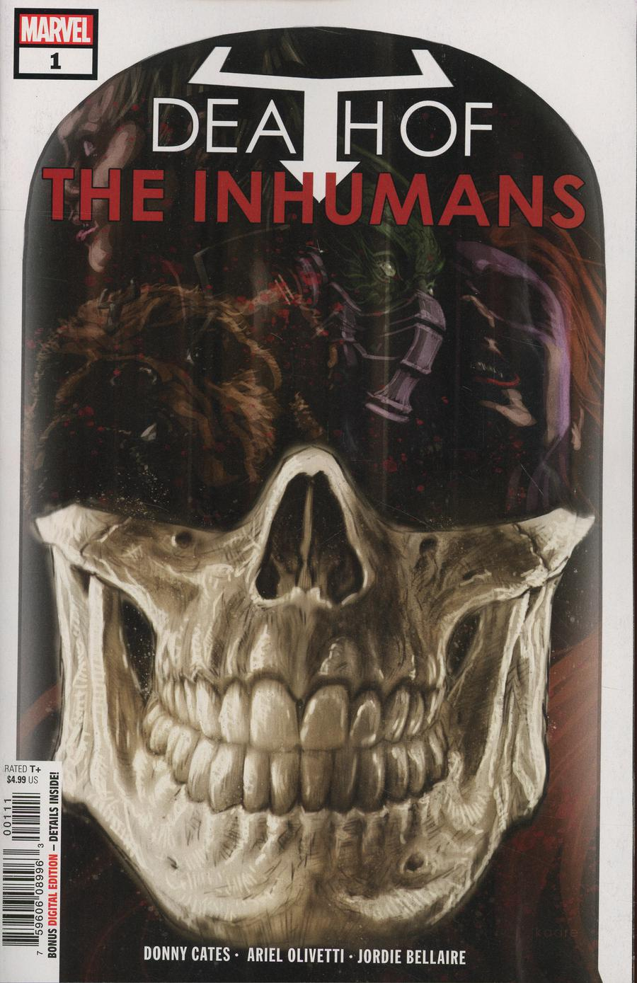 Death Of The Inhumans #1 Cover A 1st Ptg Regular Kaare Andrews Cover