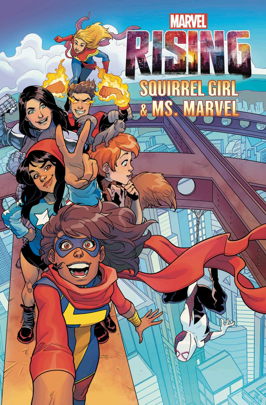 Marvel Rising Squirrel Girl Ms Marvel #1 Cover B Variant Cover