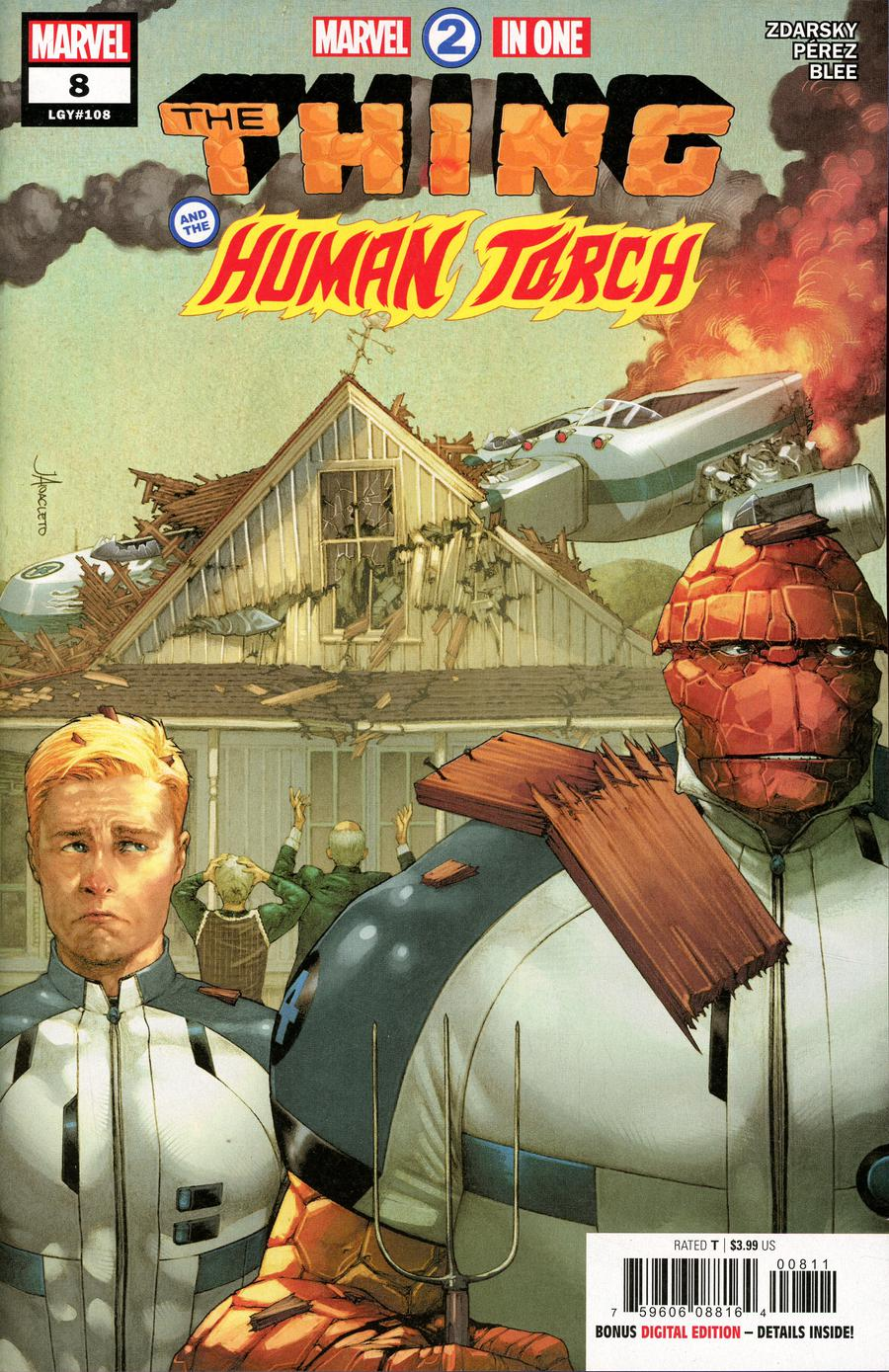Marvel Two-In-One Vol 3 #8