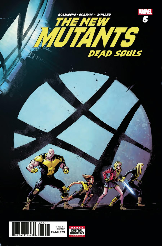New Mutants Dead Souls #5