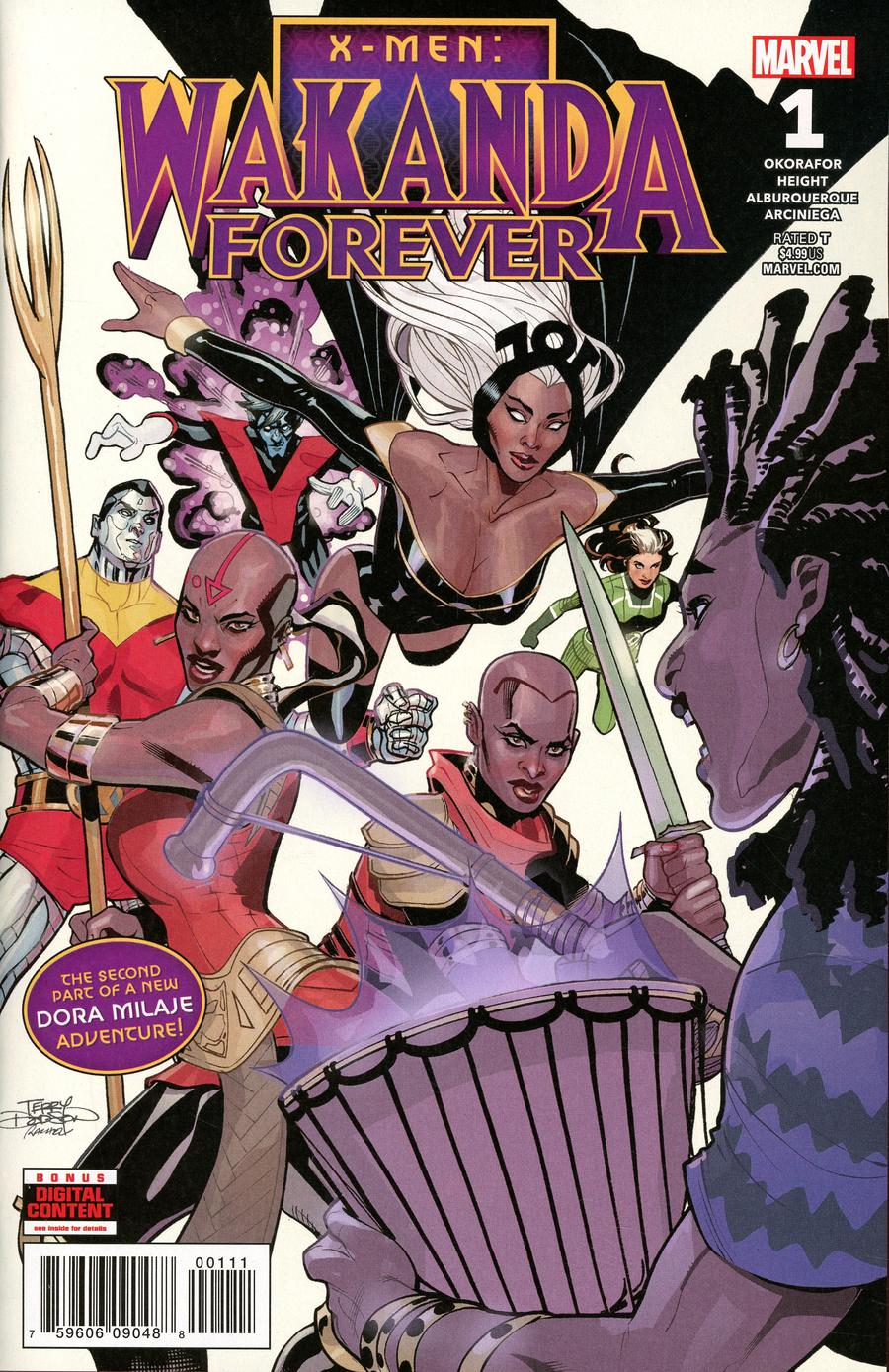 Wakanda Forever X-Men #1 Cover A Regular Terry Dodson Cover