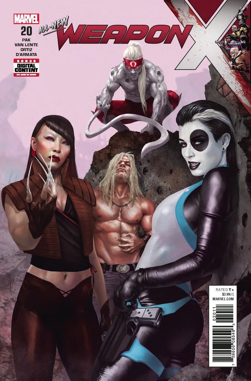 Weapon X Vol 3 #20